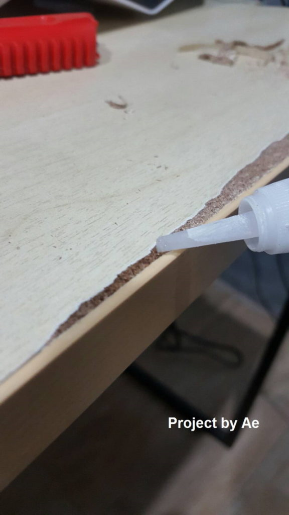 how to fix soaked wood table diy (7)