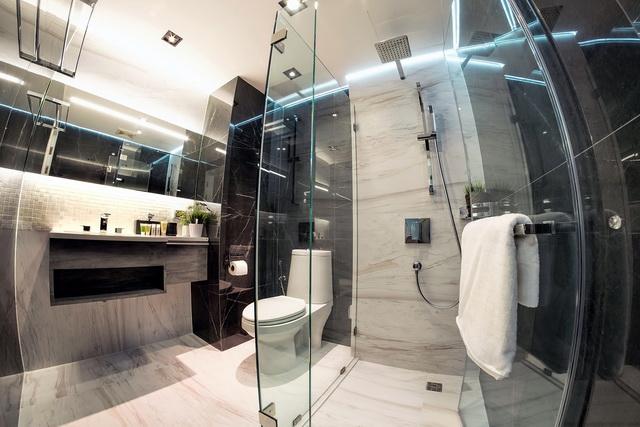 monotone bathroom condo renovation (1)