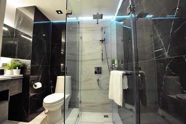 monotone bathroom condo renovation (27)