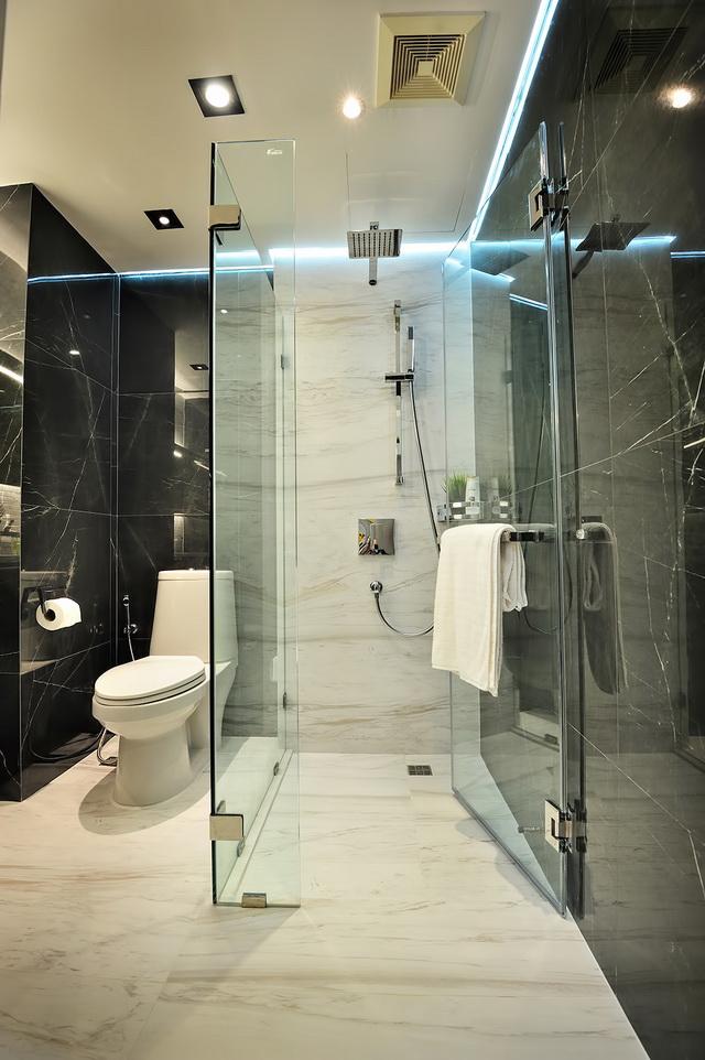 monotone bathroom condo renovation (30)