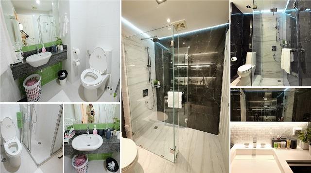 monotone bathroom condo renovation cover