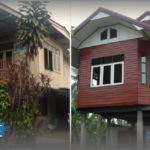 """รื้อบ้านไม้เก่า สร้างบ้านหลังใหม่ สวยงามและน่าอยู่ยิ่งกว่าเดิม บนแนวคิด """"ประหยัดที่สุด ดีที่สุด"""""""