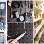 """รวม 20 ไอเดีย ตกแต่งห้องครัว ด้วย """"Pegboard"""" ในสไตล์ DIY ได้ทั้งประโยชน์ และความสวยงาม"""