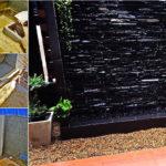 DIY ม่านน้ำตกหินกาบริมรั้ว สวยได้ในราคาประหยัด ทำเองง่ายๆ ไม่ง้อช่าง (ใช้แค่ความถึก)