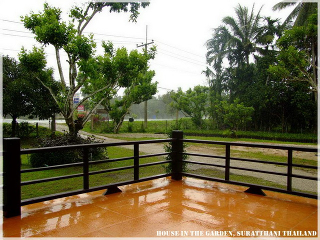 thai country half wood half concrete house review (14)