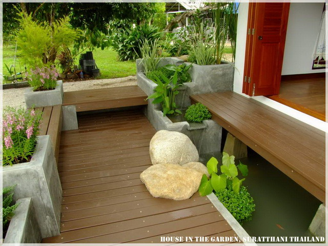 thai country half wood half concrete house review (43)