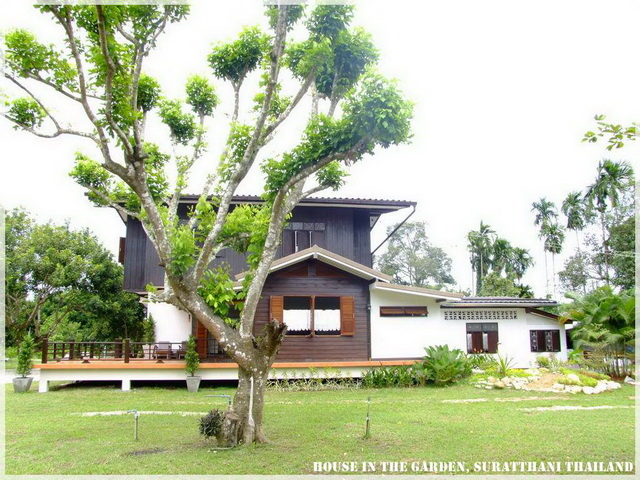 thai country half wood half concrete house review (9)