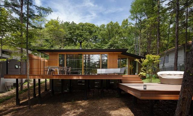 wide patio modern house resort (1)