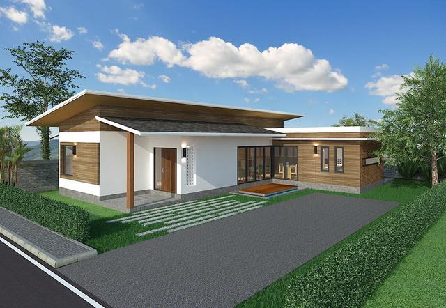 wide patio modern house resort (10)