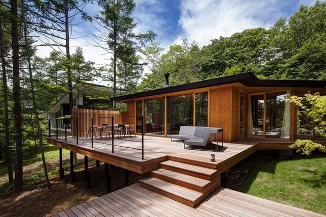 wide patio modern house resort (2)