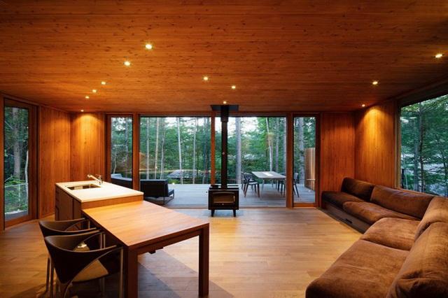 wide patio modern house resort (4)