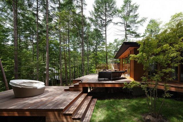 wide patio modern house resort (9)