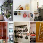 รวม 25 ไอเดียพื้นที่เก็บของภายในห้องครัว เพื่อการใช้งานที่ง่าย สะดวก สะอาด