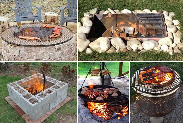 15 fire pit diy ideas cover