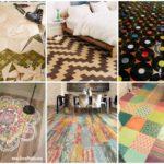 รวมไอเดีย 34 รูปแบบ ตกแต่งพื้นห้อง ด้วยวัสดุหลากหลาย DIY สร้างสีสันมากมาย ไม่ซ้ำใคร