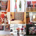 """ไอเดีย DIY ของใช้ภายในบ้าน ด้วย """"ผ้าพันคอ"""" สร้างของใช้ของโชว์ที่สวยงาม ไม่ซ้ำใคร"""