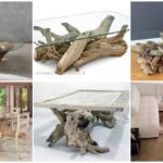 30 โต๊ะกลางโต๊ะกาแฟ ที่ DIY จากรากไม้ ประยุกต์เข้ากับงานกระจก รองรับการใช้งานท่ามกลางห้องนั่งเล่นสไตล์ชิค