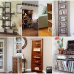 """""""32 ชั้นวางของ DIY"""" ไอเดียตกแต่งห้องนั่งเล่น เพือการใงานด้วยงานไม้ สร้างสรรค์ด้วยงานฝีมือ"""