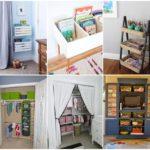 รวมไอเดียจัดเก็บของใช้ของเล่นให้กับเด็ก 24 ไอเดียต้นแบบ สร้างห้องนอนให้เรียบร้อย น่าอยู่