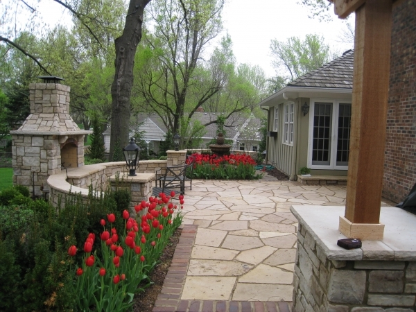 Gorgeous Breathtaking Walkway Amp Patio Designs Rosehill Gardens Kansas City Residential Garden Patio Design - Patio Ideas