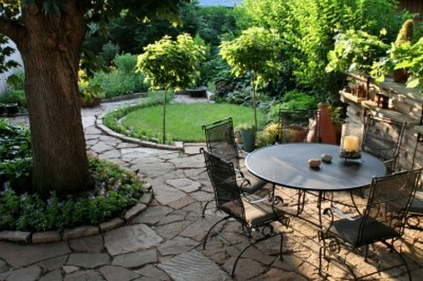 Stylish Cottage Garden Patio Design Ideas Garden Undolock Residential Garden Patio Design - Patio Ideas