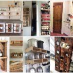 20 ไอเดียเฟอร์นิเจอร์จากไม้พาเลท ตกแต่งห้องครัว สร้างของชั้นวางของ โต๊ะ ตู้ สวยงามตามใจสั่ง