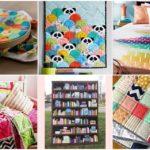 """ไอเดีย 20 แบบ DIY ของใช้ภายในบ้าน ด้วย """"ผ้าห่ม"""" สร้างของใช้ของโชว์ที่สวยงาม ไม่ซ้ำใคร"""