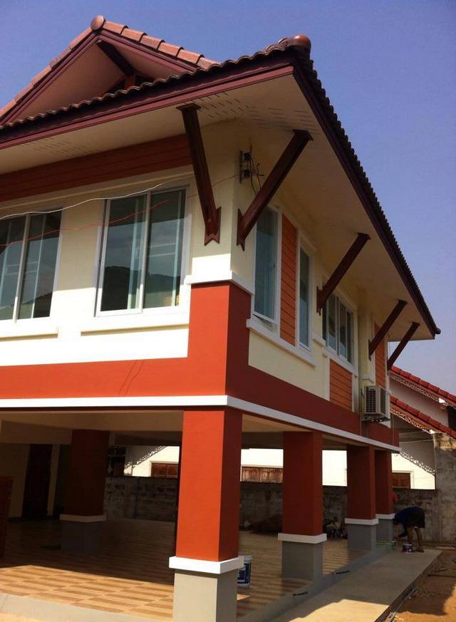 3 bedroom thai lanna house plan (12)