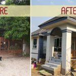 ทุบบ้านเก่า 30 ปี สร้างใหม่เป็นบ้านเดี่ยวทันสมัย สวยลงตัว ตอบโจทย์ครอบครัวแสนอบอุ่น