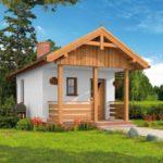 บ้านเดี่ยวท้ายสวน ออกแบบในสไตล์คอทเทจ ด้วยงานไม้ 1 ห้องโถงโล่ง และ 1 ห้องน้ำในตัว