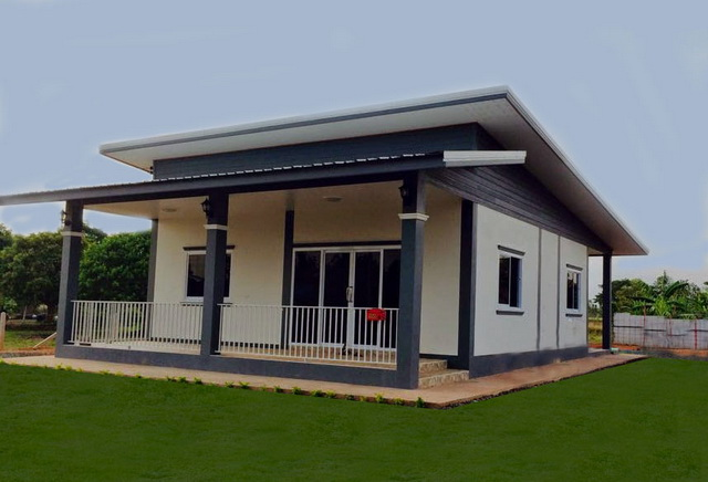 600k 2 bedroom casual modern thai house plan (1)