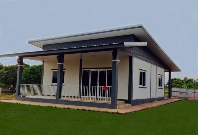 600k 2 bedroom casual modern thai house plan (1)
