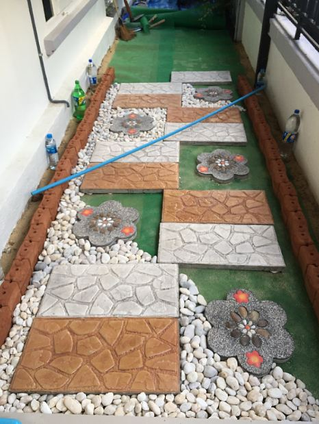 DIY side yard garden idea review (10)
