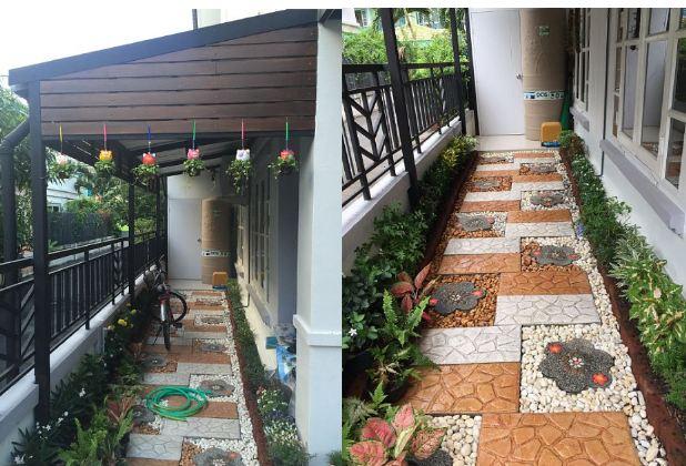 DIY side yard garden idea review (16)