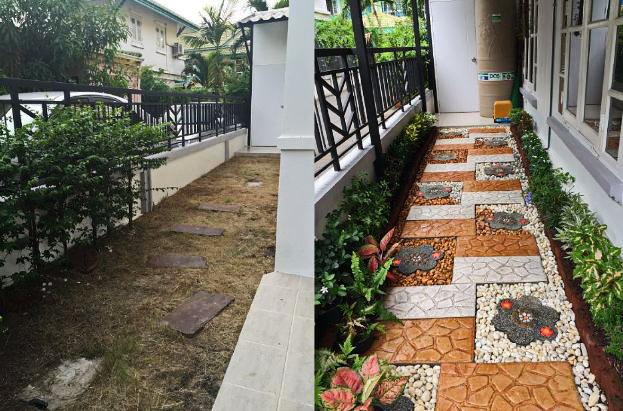 DIY side yard garden idea review (17)