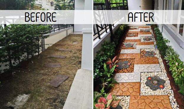 DIY side yard garden idea review COVER