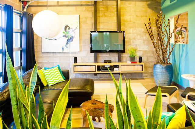 black green 2 storey loft modern house3