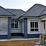 """ทุบบ้านเก่าเพื่อสร้างใหม่ กลายเป็น """"บ้านเดี่ยวแนวโมเดิร์น"""" สวยงามลงตัว ตอบโจทย์การใช้ชีวิตของคนรุ่นใหม่"""
