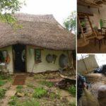 ครูเกษียณสุดอินดี้ สร้างบ้านดินน่ารักด้วยวัสดุง่ายๆ คิดเป็นเงินเพียง 8,800 บาท