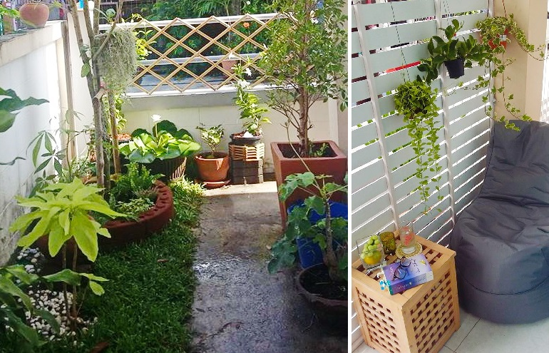 small space sideyard garden review cover