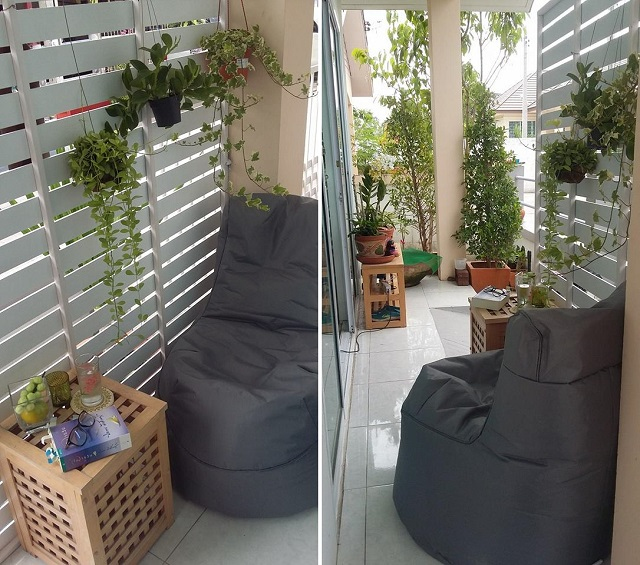 small space sideyard garden review (x)
