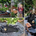 ทำเองไม่ง้อผัว!! จัดสวนน้ำตกเล็กๆ ด้วยตัวเอง เพิ่มความสวยงาม พร้อมเสริมโชคลาภ ให้เงินทองไหลมาเทมา