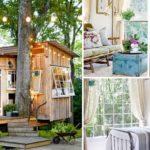 บ้านต้นไม้ในสวนป่า ฝากโครงสร้างไว้กับลำต้น ตกแต่งในรูปแบบวินเทจ อยู่สบายทั้งครอบครัว