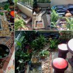 จัดสวนหน้าบ้านเล็กๆ พร้อมน้ำตกและลำธาร เสริมบรรยากาศให้สดชื่นเย็นสบาย