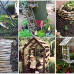 รวมไอเดียจัดสวน 22 แบบ DIY จากของเหลือใช้ เสริมความสวยงามให้แก่สวนของคุณ