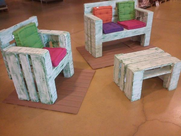 Children S Furniture Ideas: 40 เฟอร์นิเจอร์ DIY จากไม้พาเลท สร้างสรรค์ของใช้สำหรับเด็ก