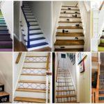 26 ไอเดีย เพิ่มสีสันให้แก่บันไดภายในบ้าน DIY กันแบบง่ายๆ หลากหลายสไตล์