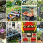 25 ของตกแต่งสวน จากวัสดุเหลือใช้ DIY ให้กลับมาใช้ใหม่ หรือทำเป็นไอเดียเพื่อทำขายก็ดีเยี่ยม