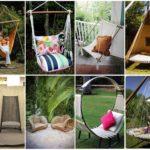 ไอเดีย 30 เก้าอี้สนาม DIY ร่วมกับของเหลือใช้ ตกแต่งกลางสวนหย่อม อิงแอบธรรมชาติ
