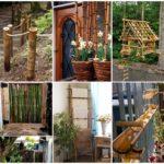 """รวมไอเดีย """"ไม้ไผ่"""" ตกแต่งบ้านและสวน 25 รูปแบบ ประยุกต์ร่วมกับของเหลือใช้อื่นๆ"""